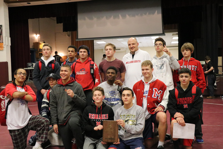 Red Bluff Dodge >> Millard South High School Wrestling